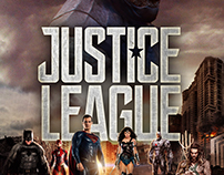 """Justice League Movie Poster """"My Edition"""""""