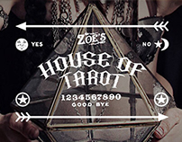 Zoe Jakes' House of Tarot Logo and Graphics