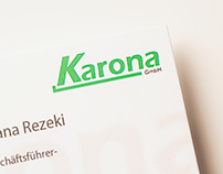 Karona GmbH Business Cards