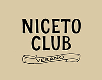Niceto Club - Hand lettered Magazine Ads & Billboards