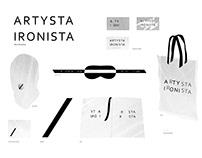 Artysta Ironista visual identity