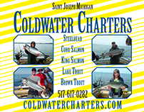 Coldwater Charters postcard