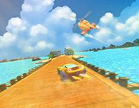 LP Cartoony Beach Concept For Game