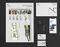 Nero Arcquitectura Logo and identity