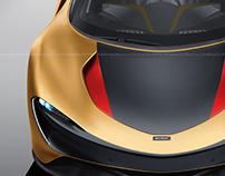McLaren Speedtail Gold