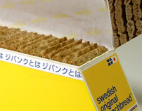 wasa crispbread packaging