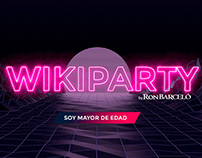 CREATIVIDAD EN VIVO: LA WIKIPARTY - RON BARCELÓ