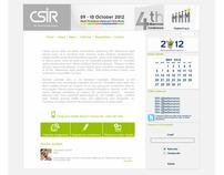 CSIR Multimedia work 2012
