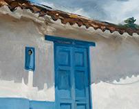 Blue, Barichara