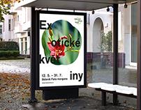 botanic garden Prague visual identity