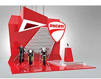 Stand de Exhibición para Ducati® | Serie de Propuestas