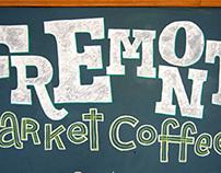 Fremont Market Coffee Chalkboard