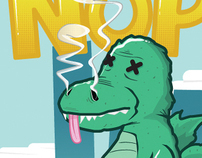 Godzilla?! NOPE! Chuck Testa!