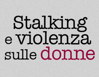 Infografica - Stalking e violenza sulle donne in Italia
