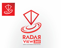 Radar view360 logo