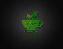 Green Tea Logo Design.