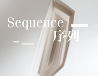Sequence in books, hand paper cutting