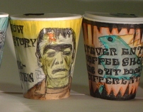 """""""BRICKLANE IN A CUP"""" COFFEE CUPS PROJECT"""