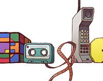 Google-logo (80's retro)