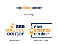 Logo & Branding : SEE Science Center: