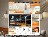 Tecnolite 2012 Web Design