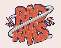 Mobile Game UI - Rad Rails