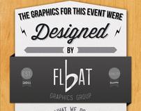 bFlat Publicity Hanger