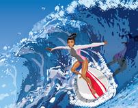 Alex Surfing