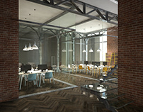 Concept for co-working in a historic building
