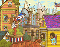 Nonprofit Vote Illustration