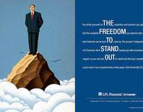 LPL Financial 2012 Recruiting Print Campaign