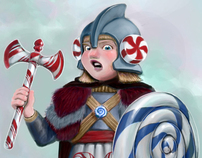 Viking of the Peppermint Candy Kingdom