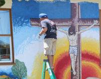 Neighborhood Church Mural #1