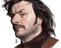 comedy actor julian barratt as howard moon