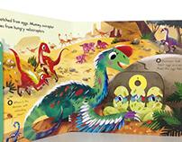'Dinosaur world' book