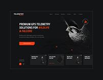 Telemetry Solutions – Website & App design