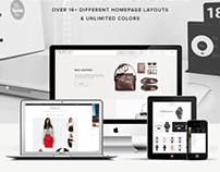 Minimalist Design For Shopify eCommerce Store