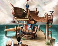 Pirate Island House