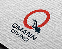 Logótipo - Qmann Diving