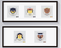 153: Series 10 - Superhero Emoji Icon