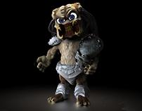 Baby Predator - Digital Sculpting