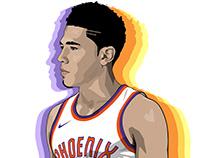 NBA superstar, Devin Booker
