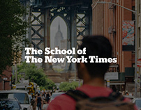 The School of The New York Times / Gap Year Microsite