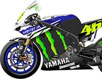Team Yamaha Motogp Branding