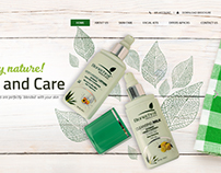 Skin Care Product Website: Woocommerce