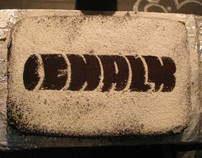 Chalk Cake