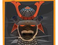 Samurai Armor Mask
