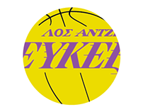 Multilingual NBA Logos