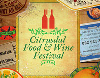 Citrusdal Food & Wine festival logo