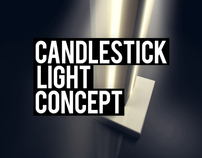 Candlestick - Light concept